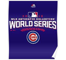 CHICAGO CUBS WORLD SERIES Poster