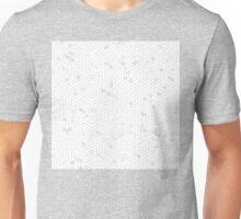 White Mosaic Unisex T-Shirt
