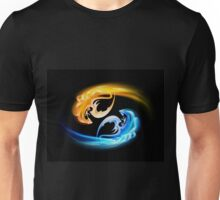 The pair of dragons turning in the sky Unisex T-Shirt