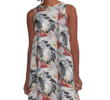 indian chief  A-Line Dress
