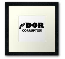 Dor Corruptor Framed Print