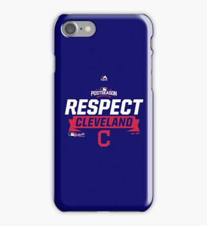 RESPECT CLEVELAND INDIANS iPhone Case/Skin