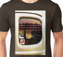 Car window reflection and Bible verse 2 Unisex T-Shirt
