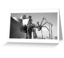 Guggenheim Bilbao Greeting Card