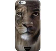 LeBron James 'Lion' Design iPhone Case/Skin