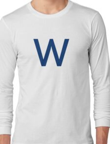 Chicago Cubs W  Long Sleeve T-Shirt