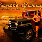 Jeeping Bettie at Gantt's Garage by ChasSinklier