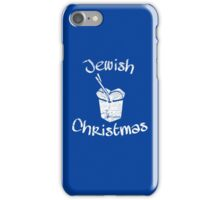 Jewish Christmas iPhone Case/Skin