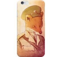 Red Army Fox iPhone Case/Skin