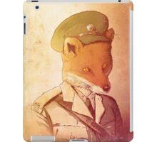 Red Army Fox iPad Case/Skin