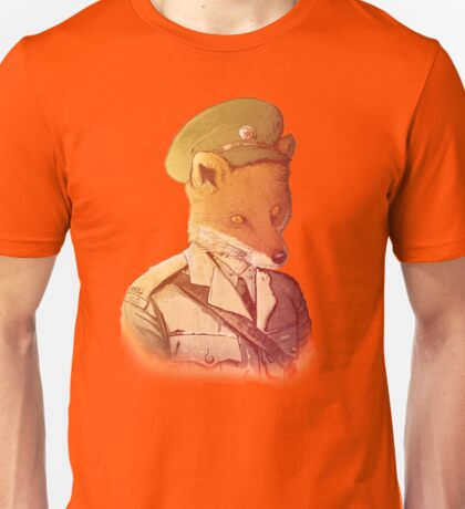 Red Army Fox Unisex T-Shirt