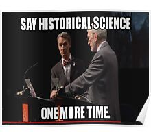 Historical Science Poster