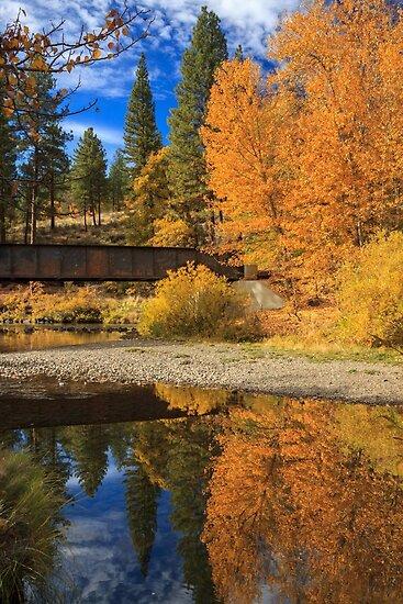 Bridge Over The Susan River by James Eddy