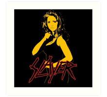 Buffy - Slayer Logo Art Print
