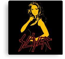 Buffy - Slayer Logo Canvas Print