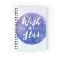 Wish On A Star Spiral Notebook