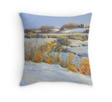 Primrose Center Road Throw Pillow