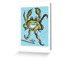 Crab Ham - Laughs a Minute!  Greeting Card