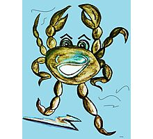 Crab Ham - Laughs a Minute!  Photographic Print
