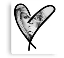 Hart of Britney Canvas Print
