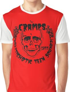 The Cramps Psychotic Teen Sounds Graphic T-Shirt