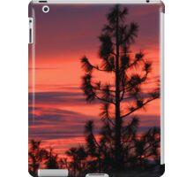 Pine Tree Sunrise iPad Case/Skin