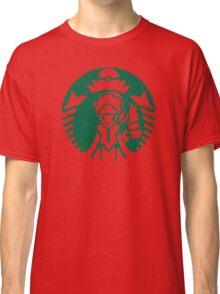 Alolan Starbucks (Green Outline) Classic T-Shirt