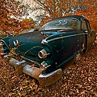 Abandoned 1955 Dodge Lancer by mal-photography
