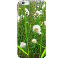 Bog Cotton iPhone Case/Skin