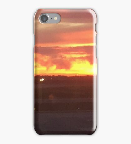 The Baltimore International Airport at Sunset   If you like, please purchase an item, thanks iPhone Case/Skin
