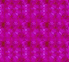 A Purple Rings Pattern by Dennis Melling