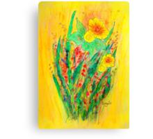 Daffodils.... Canvas Print