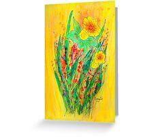 Daffodils.... Greeting Card