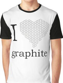 I _heart_ Graphite Graphic T-Shirt
