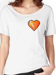 Broken Rusty Heart Women's Relaxed Fit T-Shirt