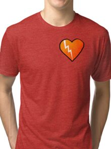 Broken Rusty Heart Tri-blend T-Shirt