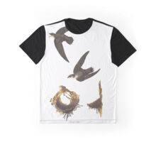 American Swift, by John Audubon Graphic T-Shirt
