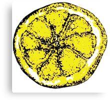 Lemon (Stone Roses inspired design) Canvas Print