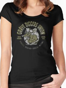 Grave Diggers Union Women's Fitted Scoop T-Shirt