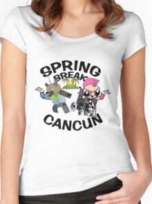 [VINTAGE] Spring Break 2003 Women's Fitted Scoop T-Shirt