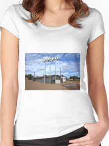 Route 66 Cafe Women's Fitted Scoop T-Shirt