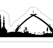 Baghdad skyline Sticker