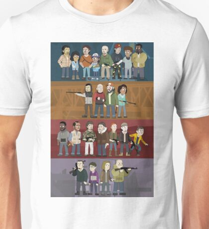 The Four Groups Unisex T-Shirt