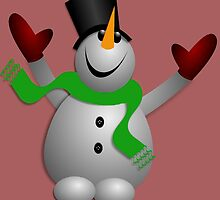 A Happy Snowman by Susan S. Kline