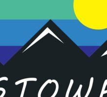 SKIING STOWE VERMONT SKI MOUNTAINS SNOWBOARD 3 Sticker