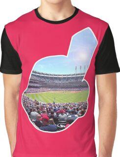 Chief Wahoo - Progressive Field Graphic T-Shirt