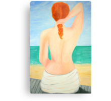A day at the beach.... Metal Print
