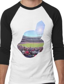Chief Wahoo - Progressive Field Men's Baseball ¾ T-Shirt