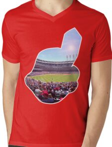 Chief Wahoo - Progressive Field Mens V-Neck T-Shirt
