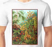 FLOWER GARDEN; Vintage Art Print Unisex T-Shirt
